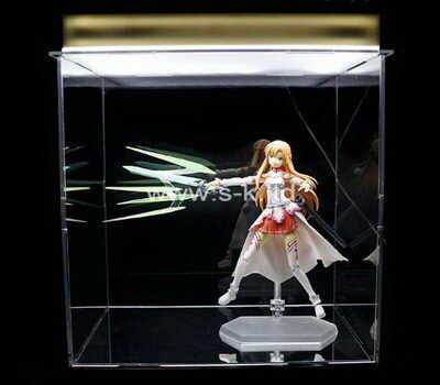 Custom acrylic figure display box