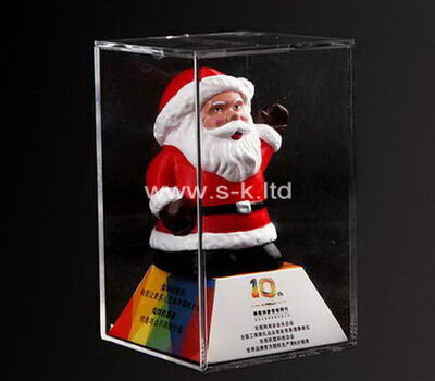 Custom acrylic santa clause display box
