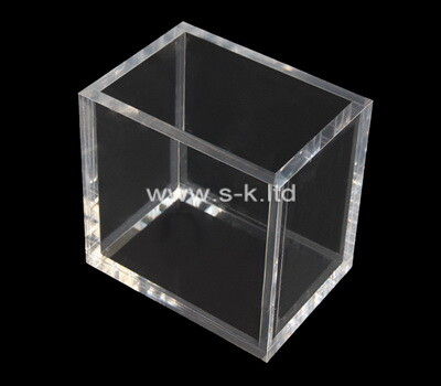 Custom 5 sided clear acrylic display case