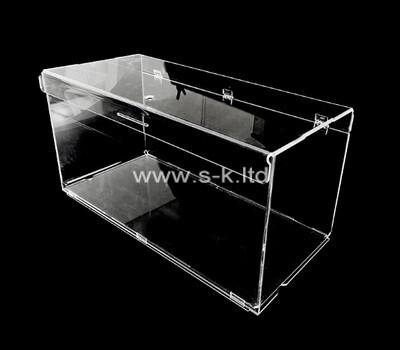 Custom clear acrylic display case