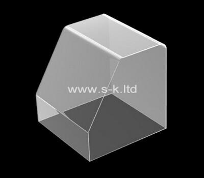 Custom front slanted acrylic display case