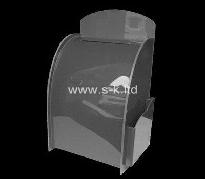 Custom plexiglass organizer box