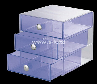 Custom plexiglass drawers boxes