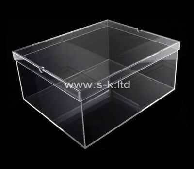 Custom clear plexiglass boxes
