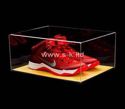 Custom clear acrylic sheo box