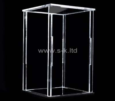 Custom clear acrylic collapsible display case