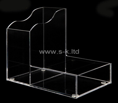 Custom 2 grids clear lucite display case
