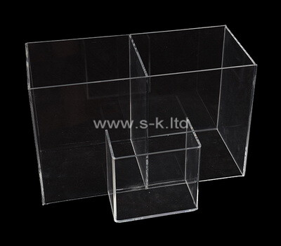 Custom clear plexiglass display case