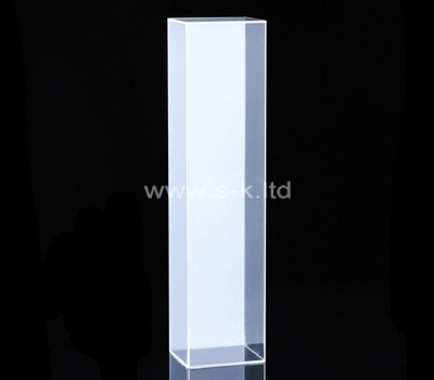 Custom tall narrow clear plexiglass display case