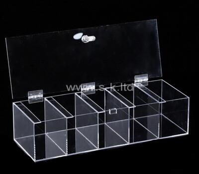 Custom multi grids clear plexiglass display box