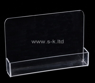 Custom clear lucite display box