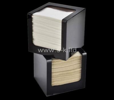 Custom lucite tissue paper boxes