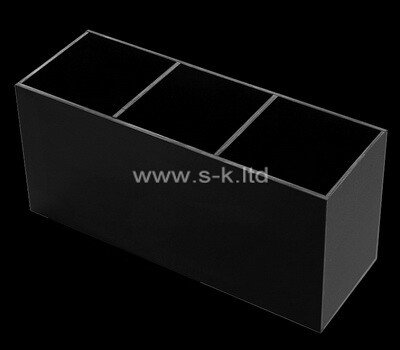 Custom black acrylic 3 grids boxes