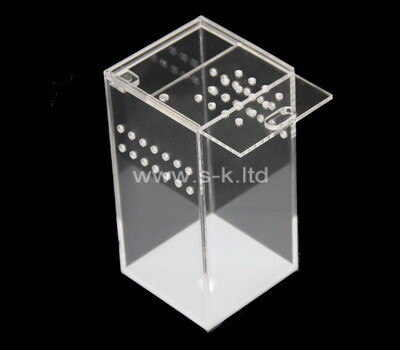 Custom tall acrylic breeding box