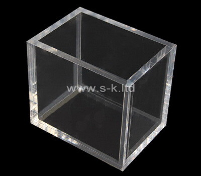 Custom clear acrylic 5 sided box