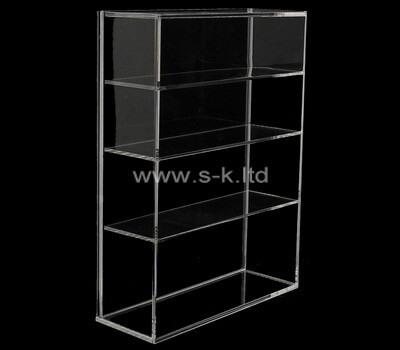 Custom 4 tiers plexiglass display cabinet