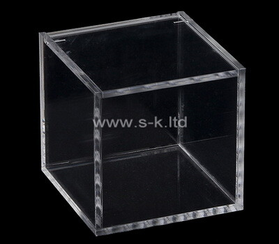 Custom transparent sqaure acrylic box