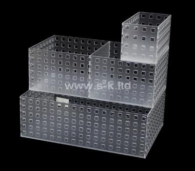 Custom acrylic container plexiglass box lucite case