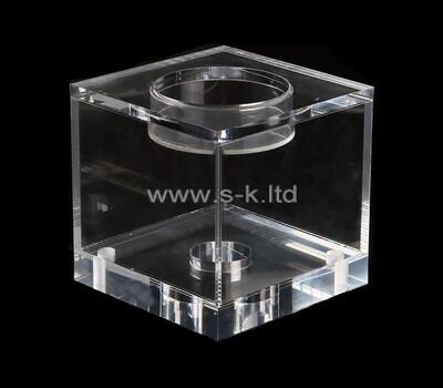 Custom lucite display case acrylic storage box