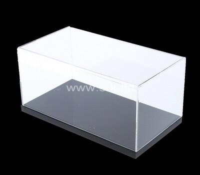 Custom 5 sided acrylic display case lucite showcase