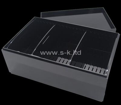 Custom plexiglass packaging ciger case acrylic box