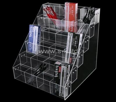 Custom countertop acrylic pens display holders plexiglass pencils sorter