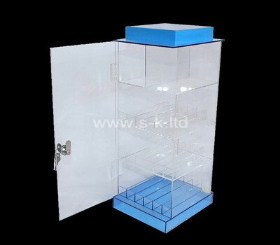 Customize perspex display cabinet lucite cabinet