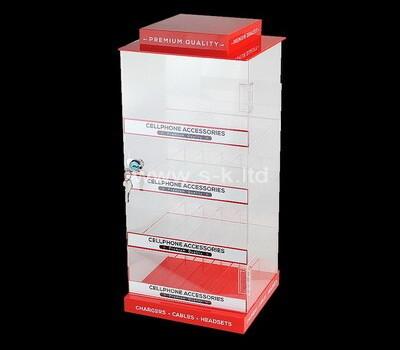 Customize pleixglass display cabinet lucite retail cabinet