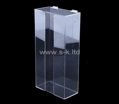 Customize acrylic retail tissue paper packing box holder