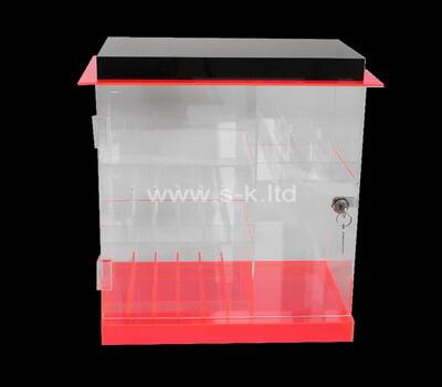 Acrylic manufacturer customize retail display cabinet