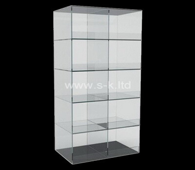 Acrylic manufacturer customize multi tiered display cabinet