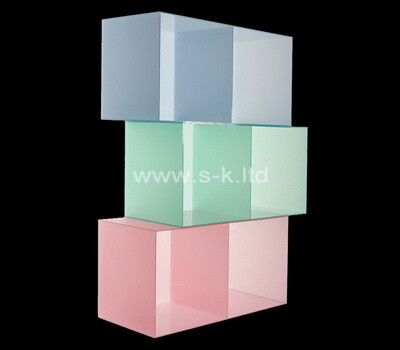 Acrylic manufacturer customize color plexiglass boxes