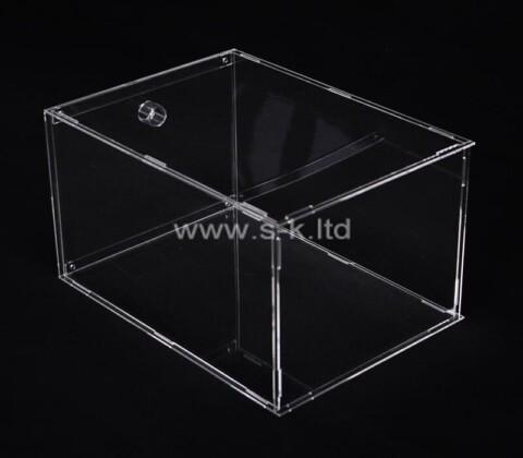 Acrylic supplier customize plexiglass display case