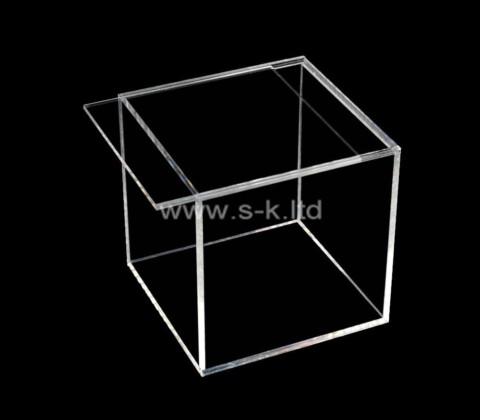 Acrylic supplier customize plexiglass sliding lid display case
