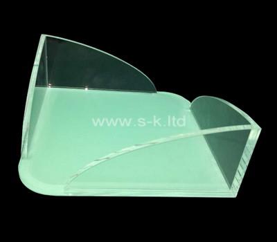 Acrylic manufacturer customize plexiglass notepad holder box